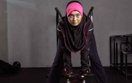Raqtive sports hijab tudung sukan