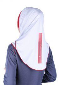 Raqtive Hijab B210 Grey Maroon