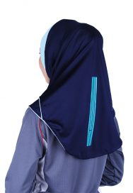 Raqtive Hijab B201 Navy Blue