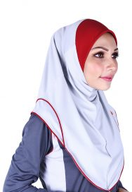 Raqtive Sport Hijab purple lilac b210