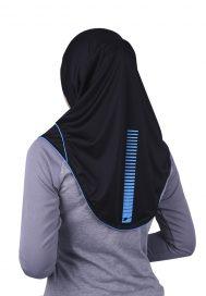 Raqtive Sports Hijab B208 Aqua Blue