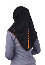 Raqtive Sports Hijab B208 TANGERINE