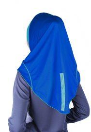 Raqtive Sport Hijab blue turqoise b211 b