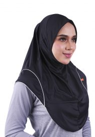 Raqtive sports hijab B208 grey hush