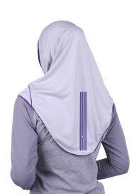Raqtive Sports Hijab B225 grey lime