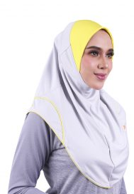 Raqtive Sports Hijab B226 grey